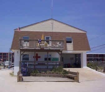 North Wildwood Lifeguard Station, 15th Street